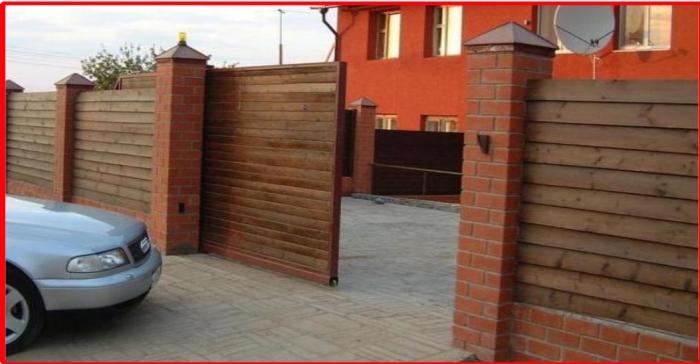 Откатные ворота цена в белгороде автоматические распашные ворота цены в туле