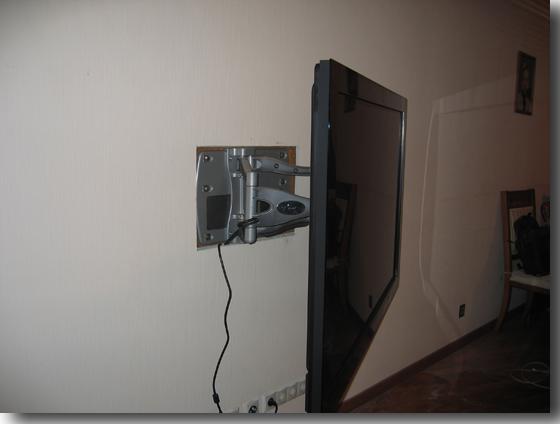 Крепеж на стену для телевизора сделать своими руками 150