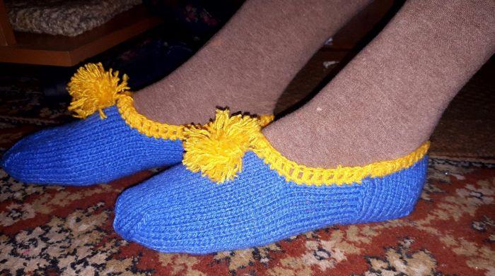 вязаные следки носки ручной работы купить цена 15000 руб